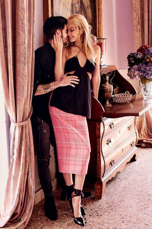 Phát sốt với vẻ sành điệu của Gigi Hadid và bạn trai - 9