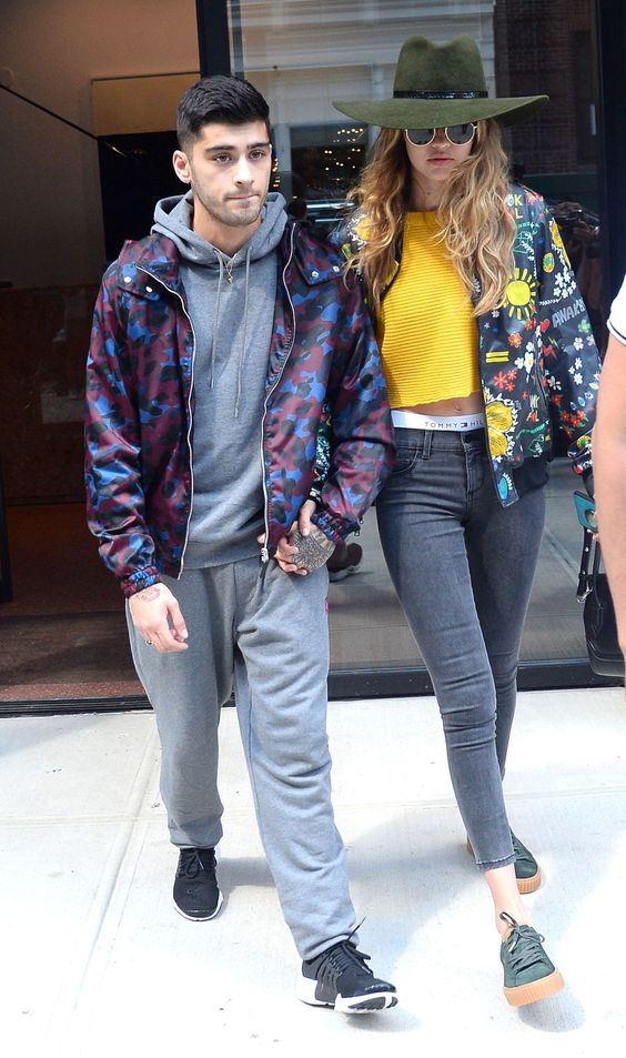 Phát sốt với vẻ sành điệu của Gigi Hadid và bạn trai - 7