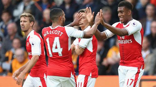 "Arsenal: Walcott, ""con dao găm"" bí mật của Wenger - 1"