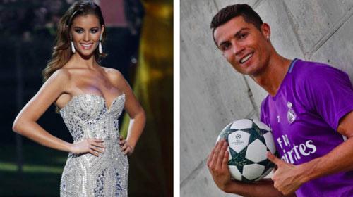 """""""Sát thủ tình trường"""" Ronaldo lộ bạn gái hoa hậu - 1"""