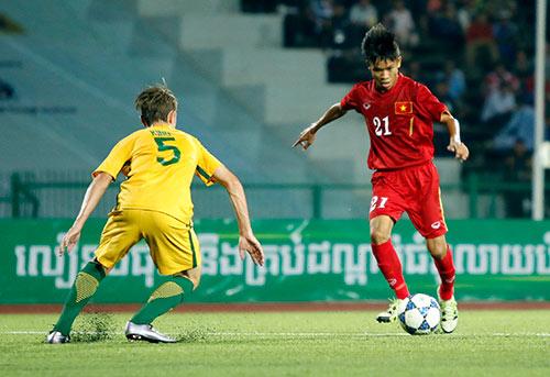 """U16 Việt Nam """"gây sốc"""" trước U16 Úc ở giải châu Á - 2"""
