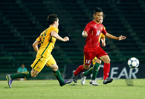"""U16 Việt Nam """"gây sốc"""" trước U16 Úc ở giải châu Á - 1"""