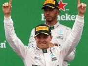 BXH F1 - Singapore GP: Rosberg soán ngôi Hamilton