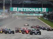 Lịch thi đấu F1: Malaysian GP 2016