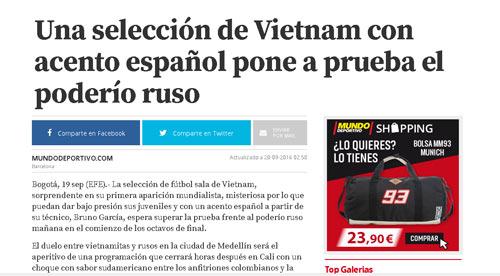 Báo thân Barca chờ futsal Việt Nam gây sốc trước Nga - 2