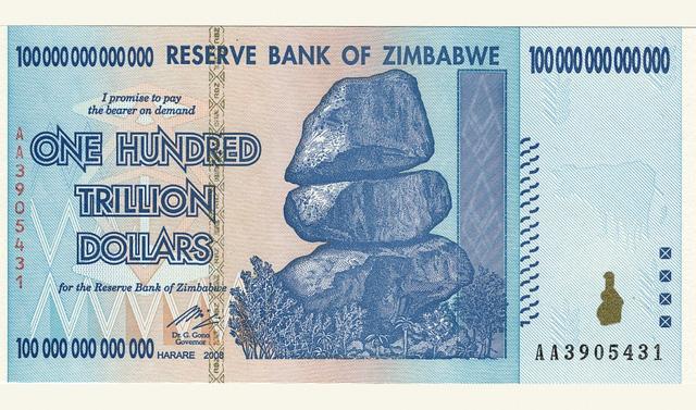 100 nghìn tỷ dollar Zimbabwe mua được... vài ổ bánh mỳ - 1