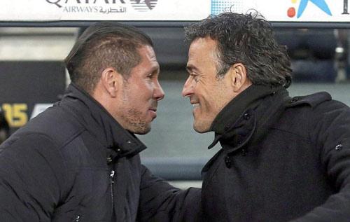 "Barca đấu Atletico: Khi Simeone bị Enrique ""át vía"" - 1"