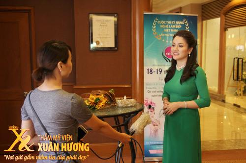 Doanh nhân Xuân Hương tiếp tục cống hiến cho Làm đẹp trên cương vị mới - 4