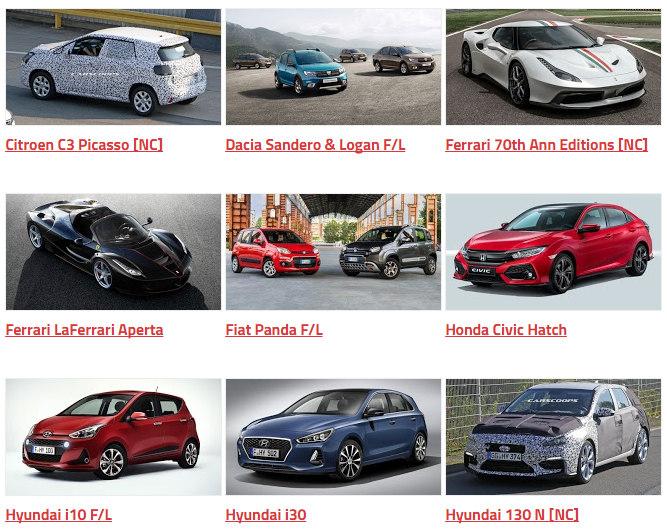 Những mẫu xe sẽ trình làng tại Paris Auto Show 2016 - 2