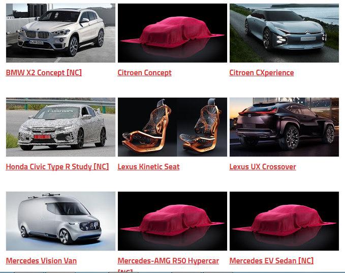 Những mẫu xe sẽ trình làng tại Paris Auto Show 2016 - 8