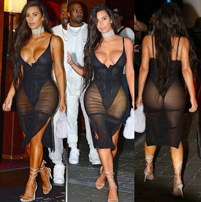 15 kiểu váy áo trong suốt khoe cơ thể của Kim Kardashian - 15