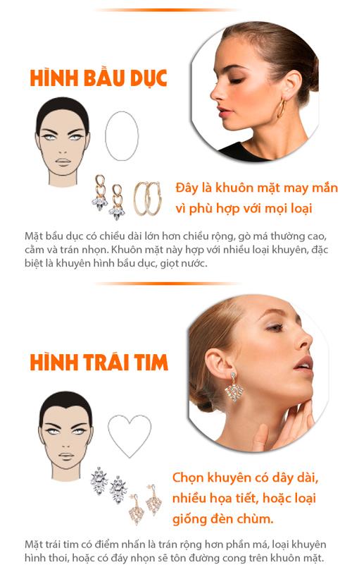 Đi tìm loại khuyên tai tăng sức quyến rũ cho khuôn mặt - 2