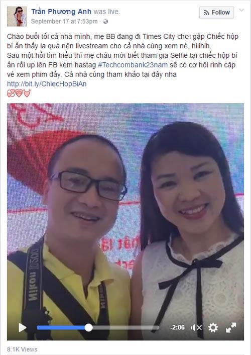 """MC Phan Anh, Á Hậu Huyền My hào hứng chụp hình với """"chiếc hộp bí ẩn"""" - 7"""