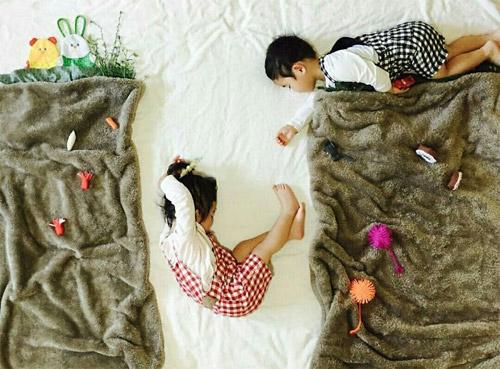 Cặp song sinh bỗng biến hình trong mỗi giấc ngủ - 1
