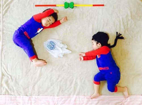 Cặp song sinh bỗng biến hình trong mỗi giấc ngủ - 3