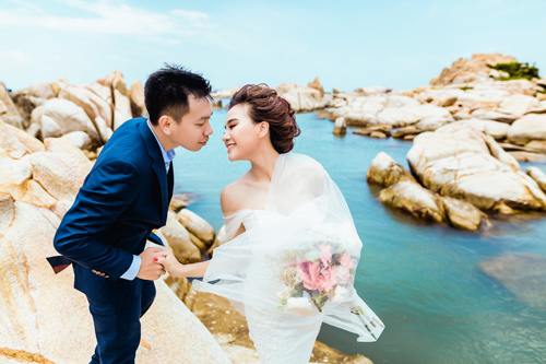 Ảnh cưới lãng mạn của cặp đôi thân nhau từ thuở cấp hai - 2