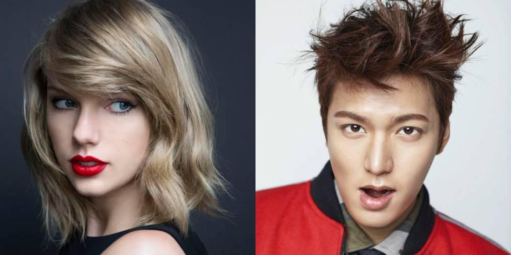 Lee Min Ho lên tiếng trước tin yêu Taylor Swift - 1