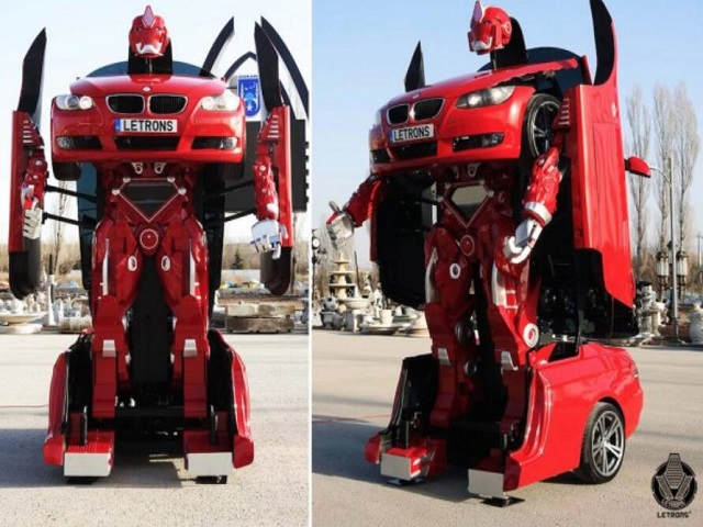 """Tận mắt ô tô """"hô biến"""" thành robot trong tích tắc - 6"""