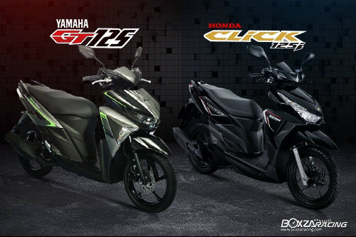 Nên chọn mua Yamaha GT125 hay Honda Click 125i? - 1
