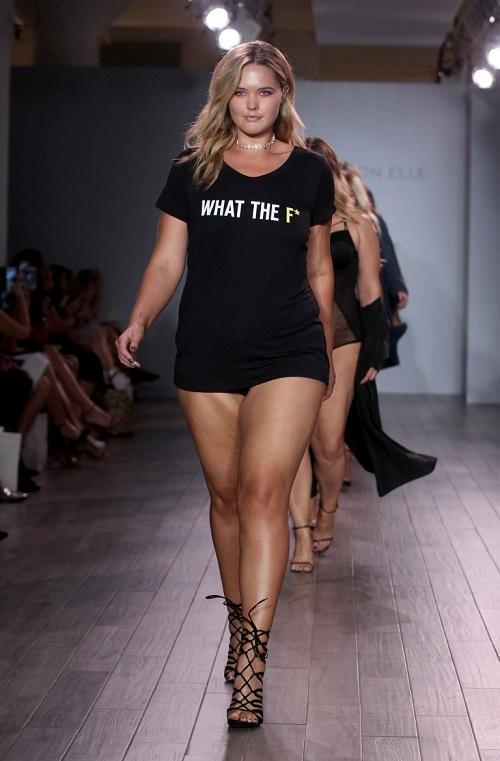 Show thời trang nội y gây sốc với dàn mẫu béo - 9