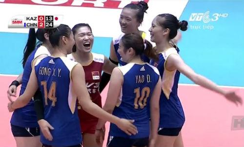 Trung Quốc - Kazakhstan: Nhẹ nhàng giật cúp (Bóng chuyền nữ châu Á) - 1
