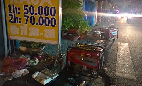 Một góc Sài Gòn tối thui sau vụ nổ trạm biến áp - 9