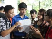 Giáo dục - du học - Chọn sinh viên ĐH Quốc gia HN thi thử đề minh họa năm 2017