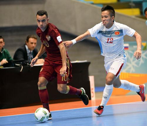 """Futsal Việt Nam - Nga: Không có thêm """"địa chấn"""" - 1"""