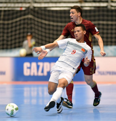 Chi tiết Futsal Việt Nam - Nga: Chênh lệch trình độ (KT) - 6