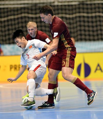 Chi tiết Futsal Việt Nam - Nga: Chênh lệch trình độ (KT) - 3