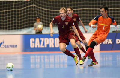Chi tiết Futsal Việt Nam - Nga: Chênh lệch trình độ (KT) - 7