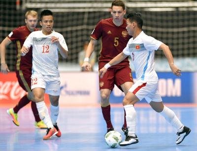 Chi tiết Futsal Việt Nam - Nga: Chênh lệch trình độ (KT) - 8