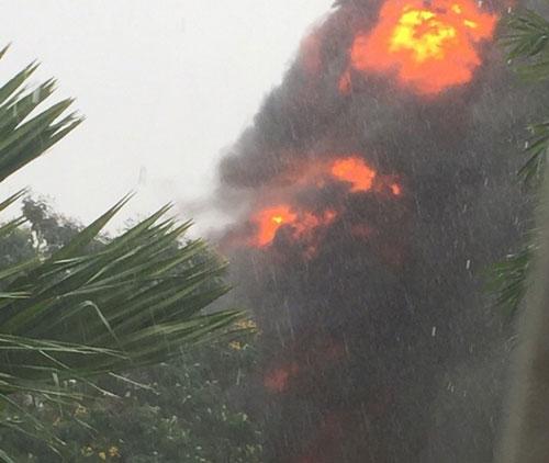 Nguyên nhân ban đầu vụ nổ máy biến áp giữa Sài Gòn - 1
