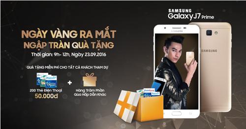 Tặng Samsung S7 Edge khi tham dự mở bán J7 Prime - 2