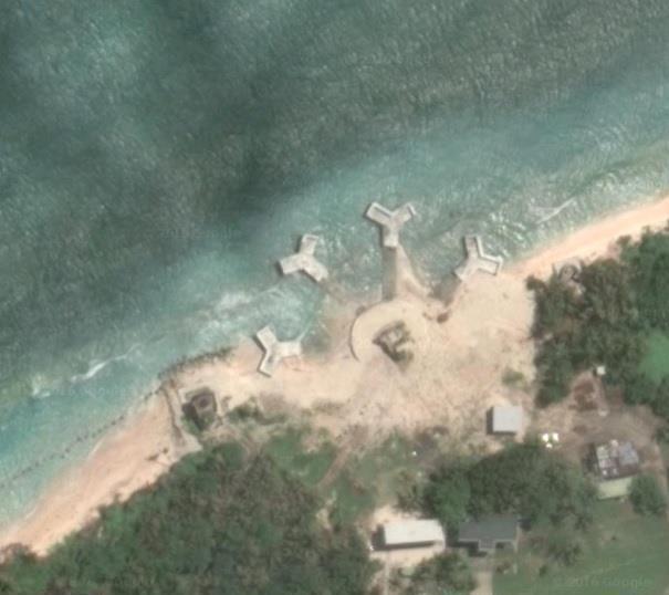 Đài Loan xây 4 công trình phi pháp trên đảo ở Trường Sa - 1