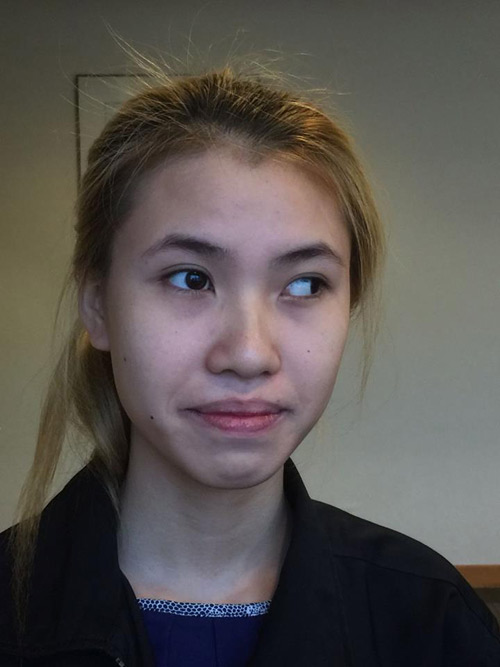 """Cô gái mắt lé đi phụ hồ kiếm tiền """"tu sửa"""" nhan sắc - 3"""