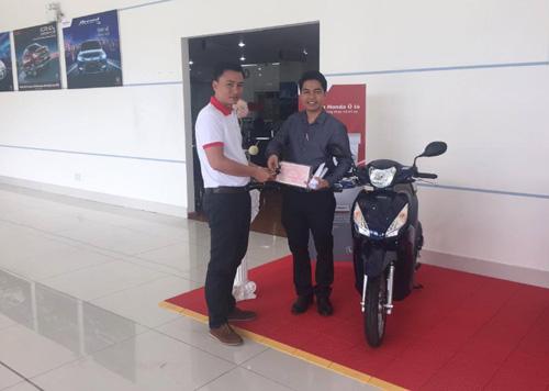 """Thành viên trúng giải chương trình """"Kỷ niệm 10 năm ra mắt chiếc xe ôtô Honda đầu tiên"""" - 5"""