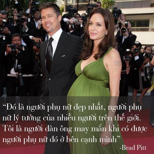 """Những phát ngôn tình yêu """"để đời"""" của cặp Jolie - Pitt - 4"""