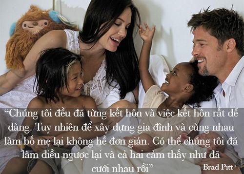 """Những phát ngôn tình yêu """"để đời"""" của cặp Jolie - Pitt - 7"""
