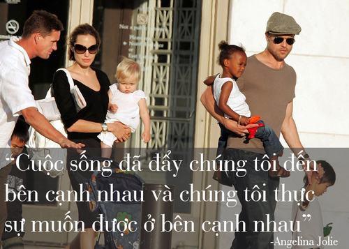 """Những phát ngôn tình yêu """"để đời"""" của cặp Jolie - Pitt - 13"""
