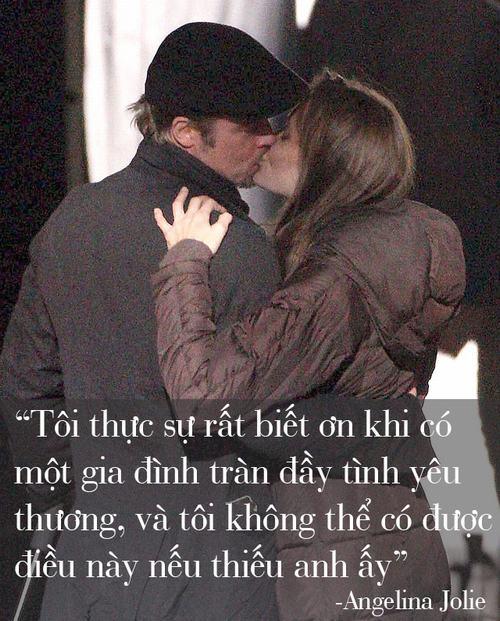 """Những phát ngôn tình yêu """"để đời"""" của cặp Jolie - Pitt - 11"""