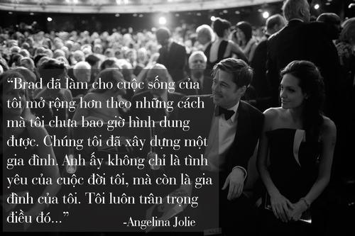 """Những phát ngôn tình yêu """"để đời"""" của cặp Jolie - Pitt - 9"""
