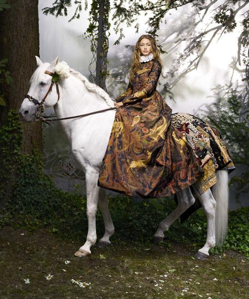 Gigi Hadid hóa công chúa đẹp mộng mị - 5