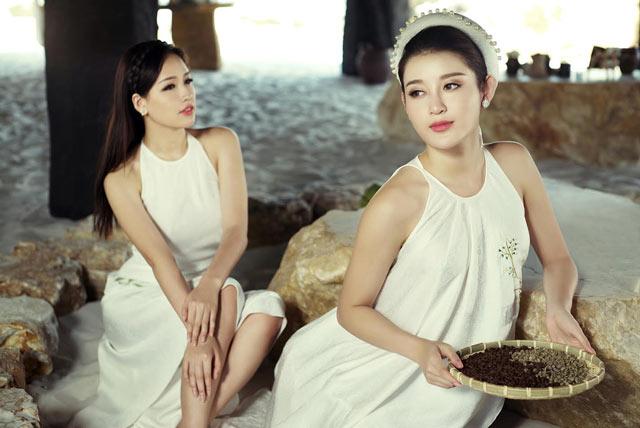 Dàn mỹ nhân Việt khoe vai trần mong manh - 8