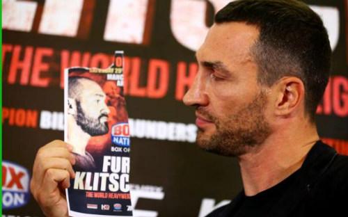 """Tái đấu Klitschko, """"Gã hề"""" bị kiểm tra nghiêm ngặt - 1"""
