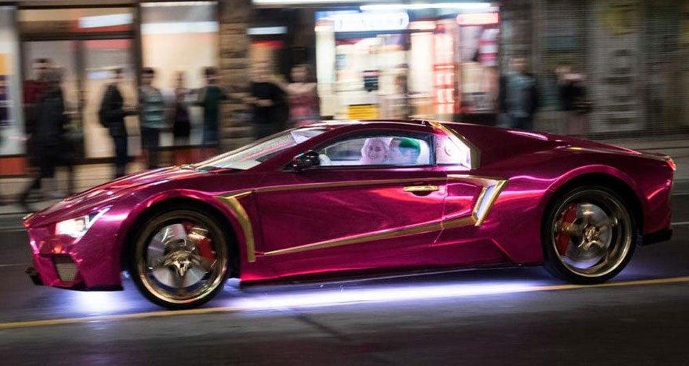 """Clip cận cảnh siêu xe Lamborghini trong """"Biệt đội cảm tử"""" - 4"""