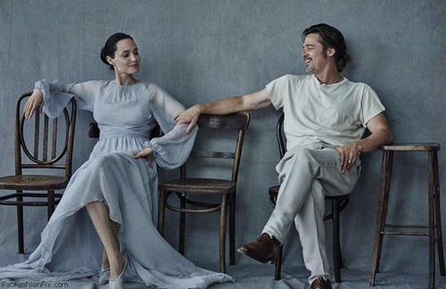 Tiếc nuối ngắm khoảnh khắc thời trang của Jolie - Pitt - 1