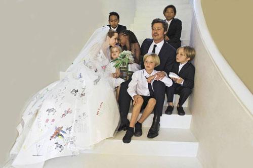 Tiếc nuối ngắm khoảnh khắc thời trang của Jolie - Pitt - 3