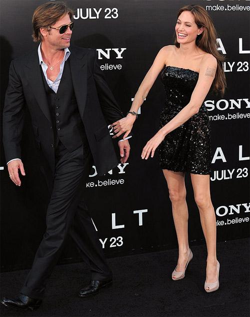 Tiếc nuối ngắm khoảnh khắc thời trang của Jolie - Pitt - 5