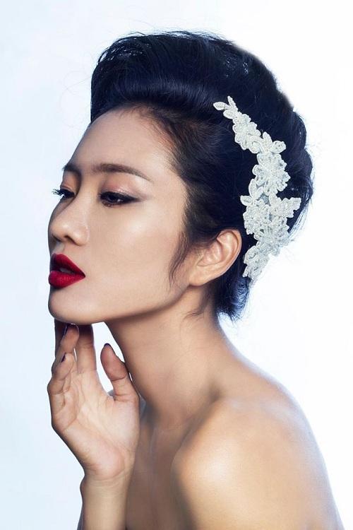 Học lỏm bí kíp làm đẹp từ người mẫu Next Top - 2